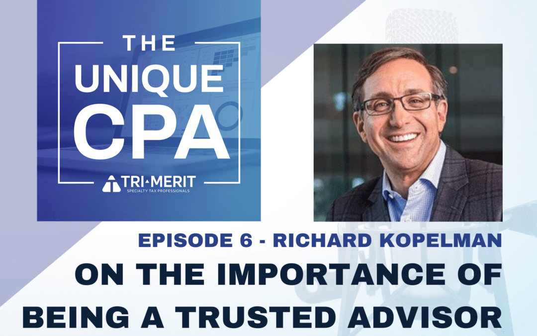 On the Importance of Being a Trusted Advisor