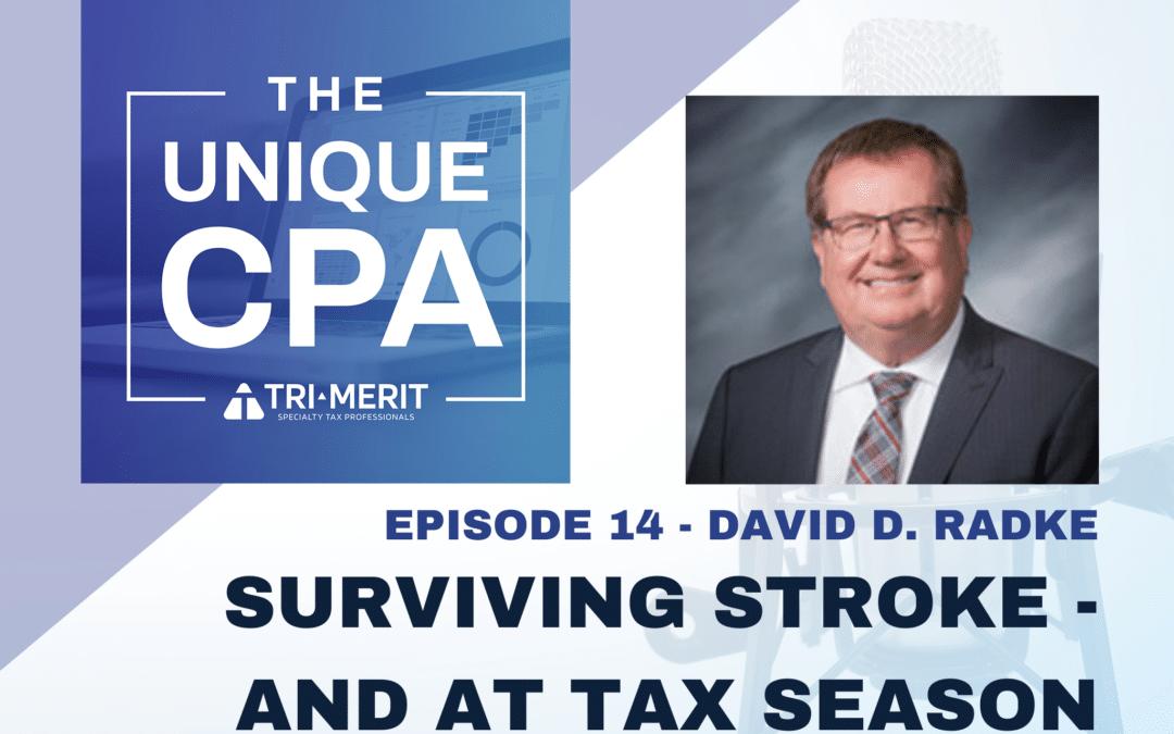 Surviving Stroke – and at Tax Season